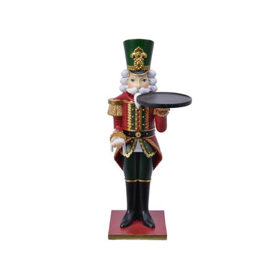Nutcracker with Serving Plate - 35cm