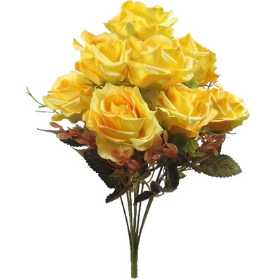 Rose Bush (Yellow)