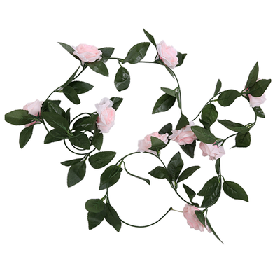 Rose Garland - 2.4m (Light Pink)
