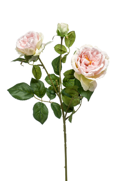 Rose Spray - 58cm (Light Pink)