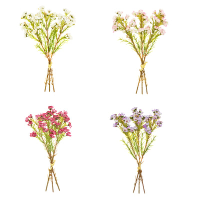 Hand Tied Waxflower Bundle - 34cm