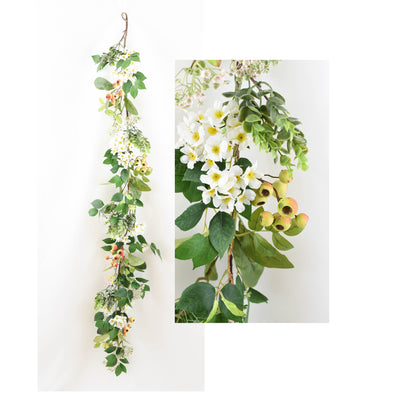 Hawberry Floral Garland - 1.5m