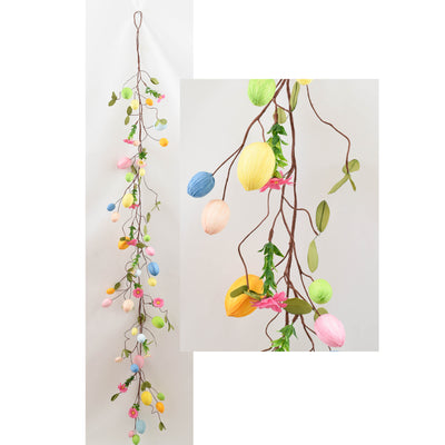 Rainbow Egg Garland - 1.5m