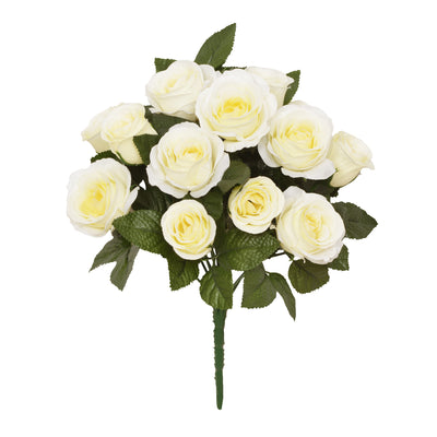 Rose Bouquet - 32cm (Cream)
