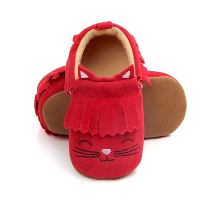 Newborn Baby Girls Boys Shoes First Walkers  Spring Autumn Infant Moccasins PU Leather Cute Kids Toddler Soft Shoes