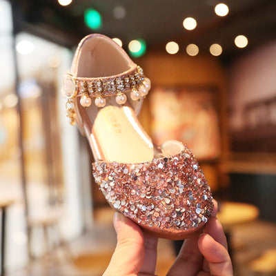 Big Girls beautiful beaded shoes