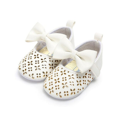 Baby girl butterfly knot shoes