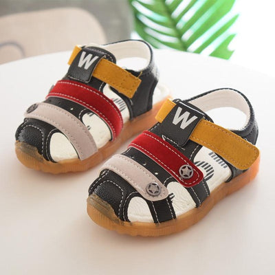 Colorful Kids Sandals, Cut out designed for summer heats