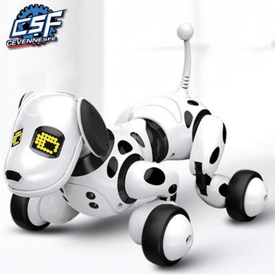 New Remote Control Smart Robot Dog Programable 2.4G Wireless Kids Toy Intelligent Talking Robot Dog Electronic Pet kid Gift
