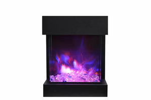 The Cube 2025WM Amantii Electric Fireplace - 3 Sided Viewing - Expression Fireplaces