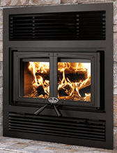 Osburn Everest II Wood Fireplace - OB0416 - Expression Fireplaces