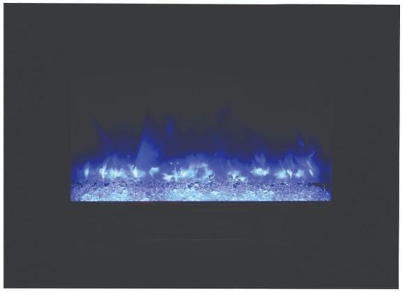 Amantii WM-FM Series 26-In Built-In or Wall Mount Electric Fireplace WM-FM-26-3623-BG - Expression Fireplaces