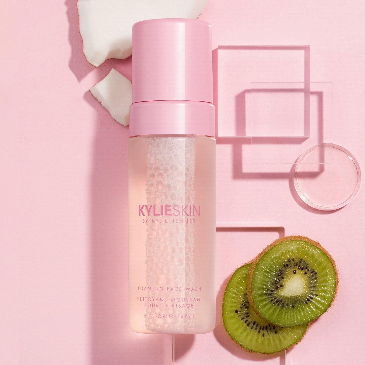 Kylie Skin Foaming Face Wash with Kiwi Ingredient