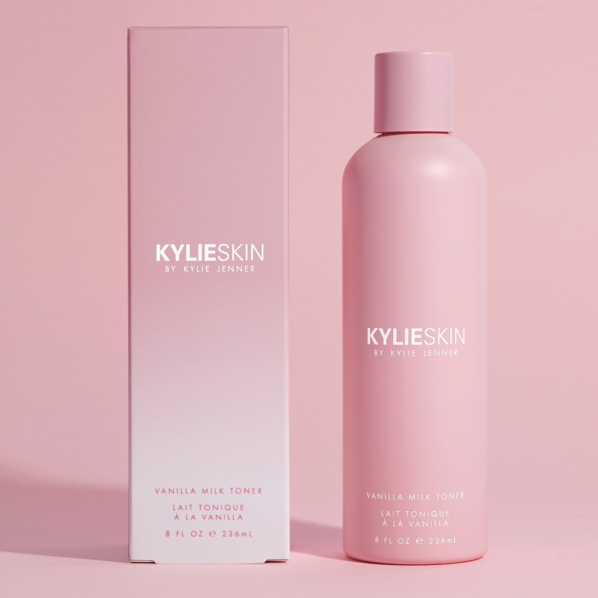 Kylie Skin Vanilla Milk Toner package and product
