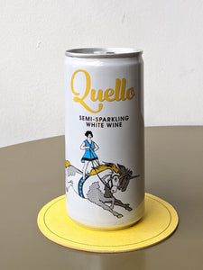 Quello, Sparkling White Wine, 11%, 200ml can
