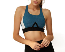 Load image into Gallery viewer, Colour Block Sport Bra