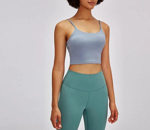 Round Neck Sport Bra Top 4 Colours