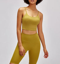 Load image into Gallery viewer, Round Neck Sport Bra Top 4 Colours