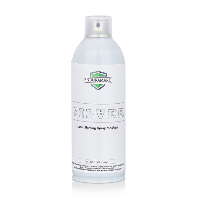Laser Marking Spray Can - Silver