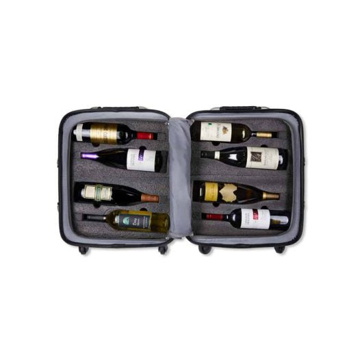 VINGARDEVALISE® PETITE 8 BOTTLE WINE SUITCASE