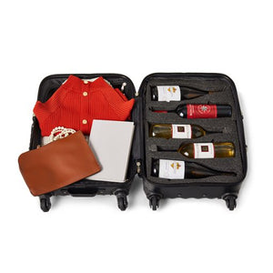 VINGARDEVALISE® PICCOLO 5 BOTTLE WINE TRAVEL CASE