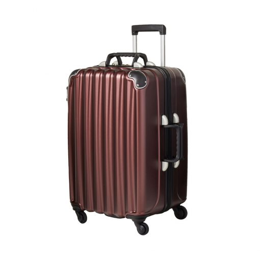 Burgundy 12 Bottle Wine Suitcase