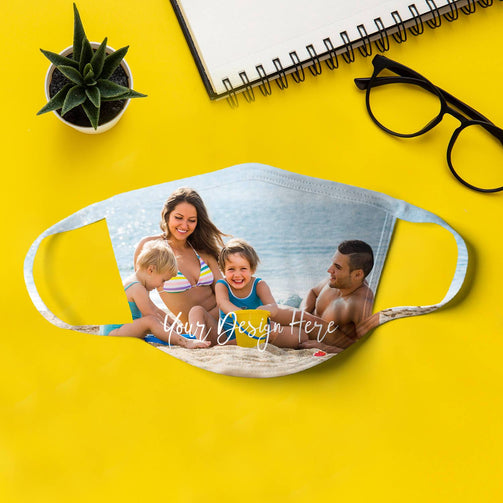 Personalized Full Print Face Masks - State Mask Supply Mask Up