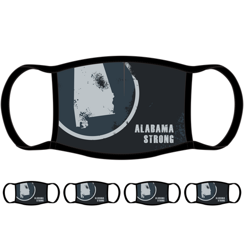 Alabama Strong Face Mask (5-Pack) - State Mask Supply Mask Up
