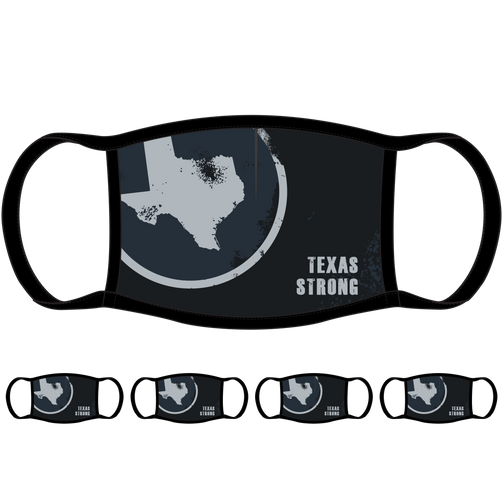 Texas Strong Face Mask (5-Pack) - State Mask Supply Mask Up