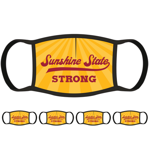 Sunshine State Strong FL Face Mask (5-Pack) - State Mask Supply Mask Up