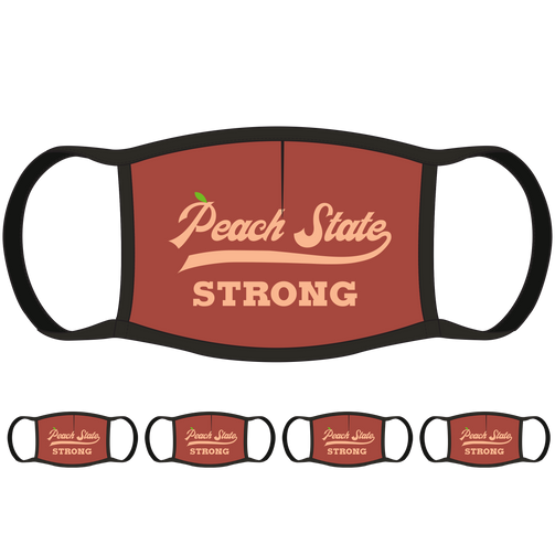 Peach State Strong GA Face Mask (5-Pack) - State Mask Supply