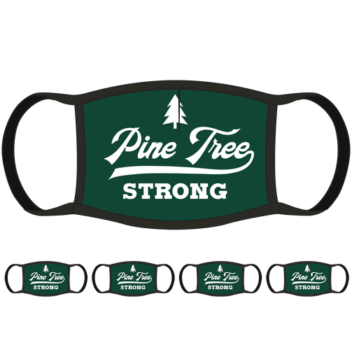 Pine Tree Strong ME Face Mask (5-Pack) - State Mask Supply