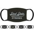 Steel State Strong PA Face Mask (5-Pack) - State Mask Supply