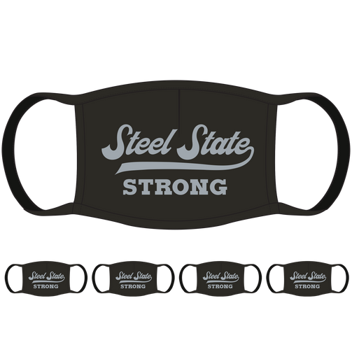Steel State Strong PA Face Mask (5-Pack) - State Mask Supply Mask Up
