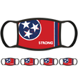 Tennessee Flag Face Mask (5-Pack) - State Mask Supply