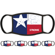 Texas Flag Face Mask (5-Pack) - State Mask Supply Mask Up