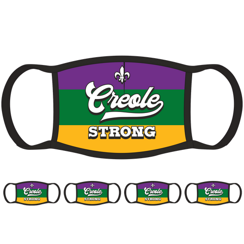 Creole Strong LA Face Mask (5-Pack) - State Mask Supply