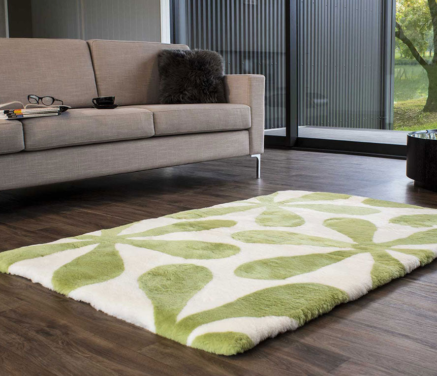 Plush, dense, unique...the only way to describe Bowron Shortwool Shearling Designer Rugs. Meticulously cut, matched and stitched to create intricately patterned luxurious floor coverings. A traditional feel capturing the timeless essence of luxury