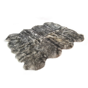 Twilight Tip HUGE Eight Piece Sheepskin Rug 196 cm x 180 cm No. 17