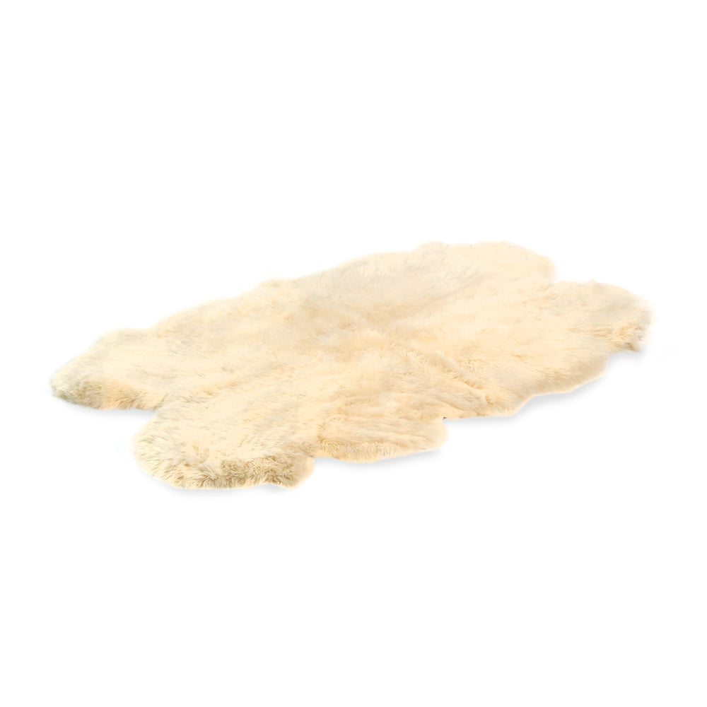 Four Piece Sheepskin Rug
