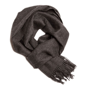 Load image into Gallery viewer, Alpaca Scarf - Charcoal