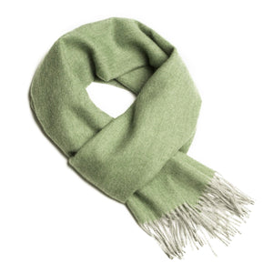 Load image into Gallery viewer, Alpaca Scarf - Sage Silver