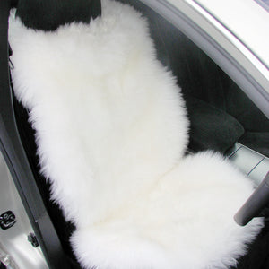 Sheepskin Carseat Cover Longwool - Ivory