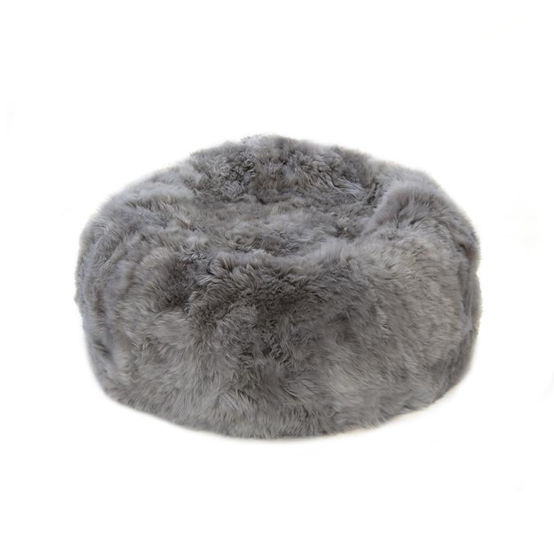 Bean Bag Colossus - Longwool Light Grey