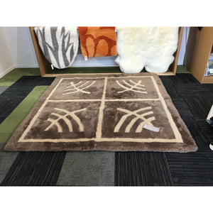 Load image into Gallery viewer, Shortwool Designer Carpet 200cm x 200cm Price Reduced