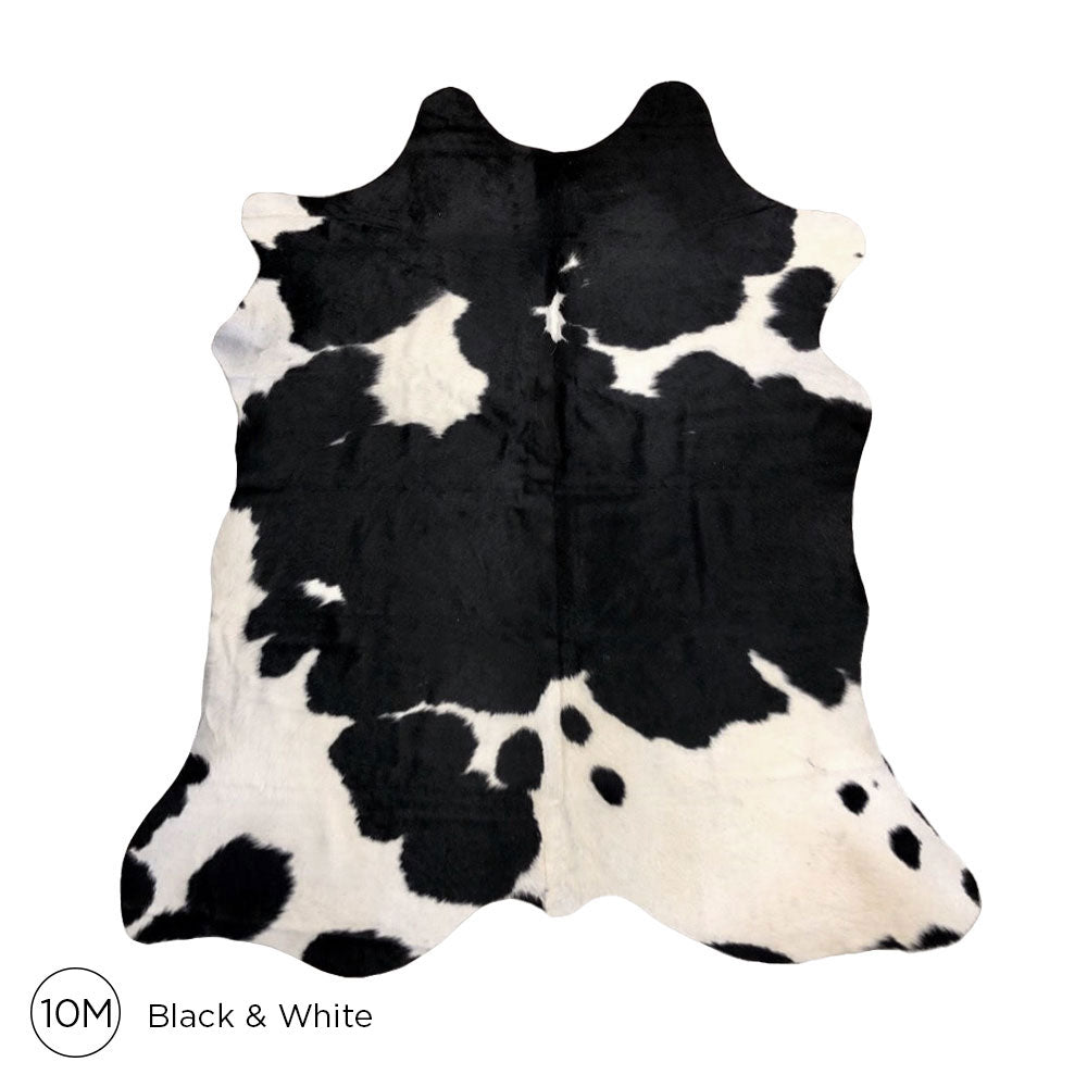 Load image into Gallery viewer, Premium Cowhide - Black & White No. 10M 160120