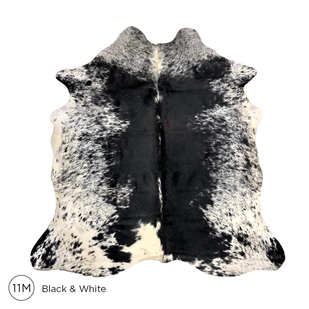 Load image into Gallery viewer, Premium Cowhide - Black & White No. 11M 160120