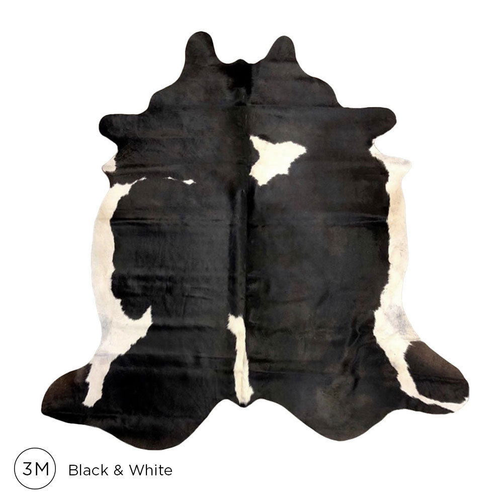 Load image into Gallery viewer, Premium Cowhide - Black & White No. 3M