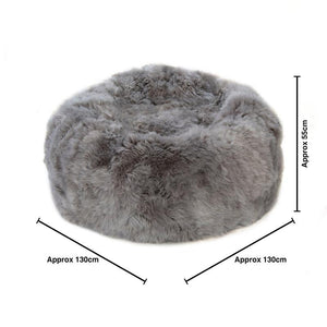 Load image into Gallery viewer, Bean Bag Colossus - Longwool Light Grey