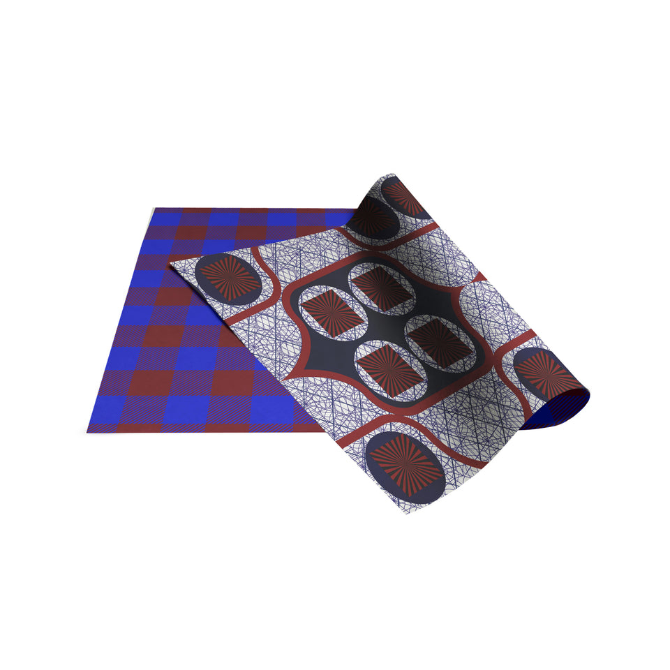 Anansi - Maasai Double-Sided Gift Wrap